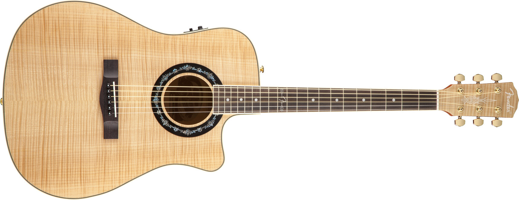 fender品牌_原声吉他_hot rod design acoustics